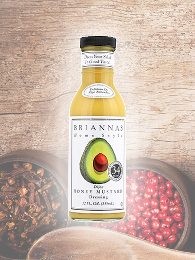 Dijon Honey Mustard Dressing Briannas