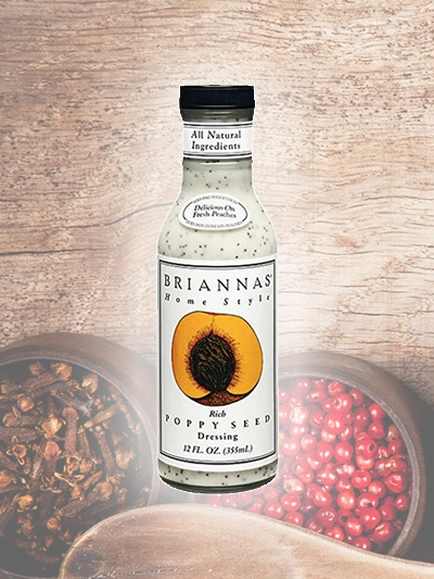 Rich Poppy Seed Dressing Briannas