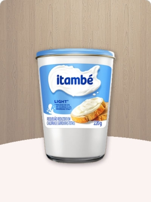 Requeijão Cremoso Light Itambé