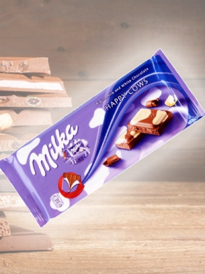 Chocolate Milka Happy Cows