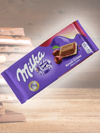Chocolate Cherry Creme Milka