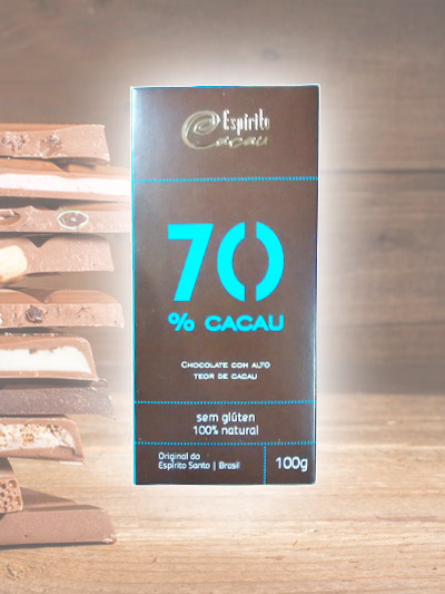 Chocolate Espirito Cacau 70%