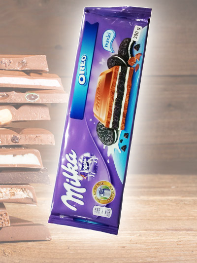 Chocolate Milka Oreo Barra 300g