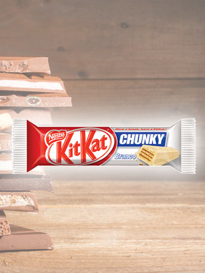 Chocolate Kit Kat Chuncky Branco