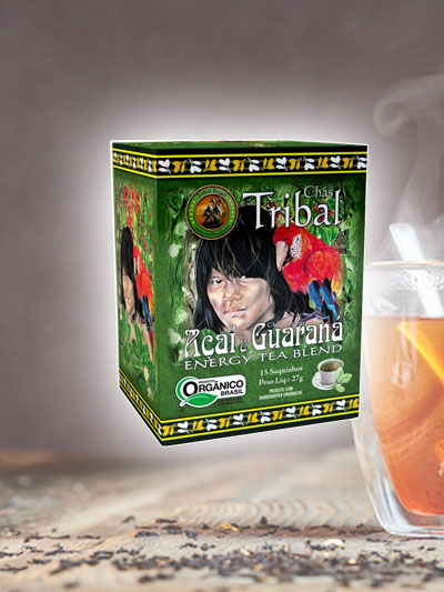 Chá Açai Guaraná Tribal