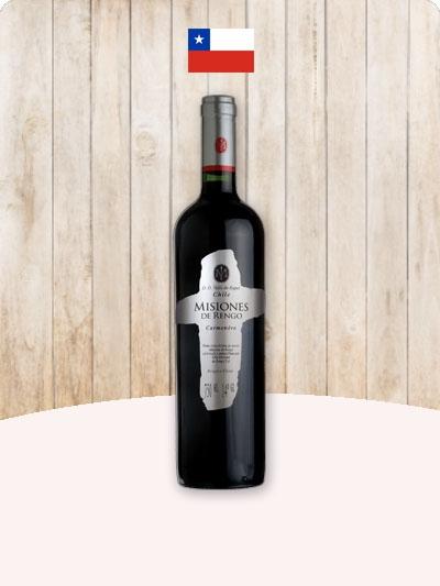 Vinho Tinto Misiones D Rengo Carmenere